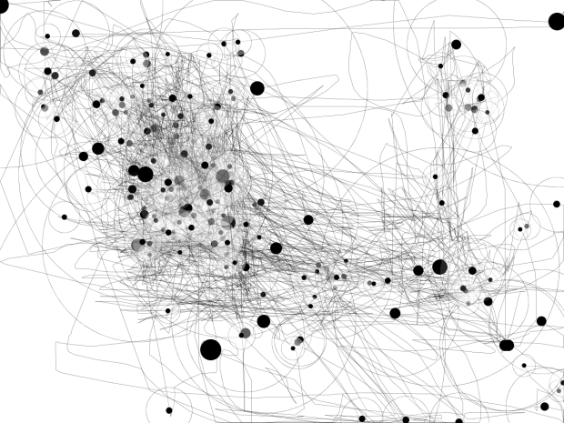 IOGraphica - 32.6 minutes (from 23-58 Mar 22th to 0-31 Mar 23th)